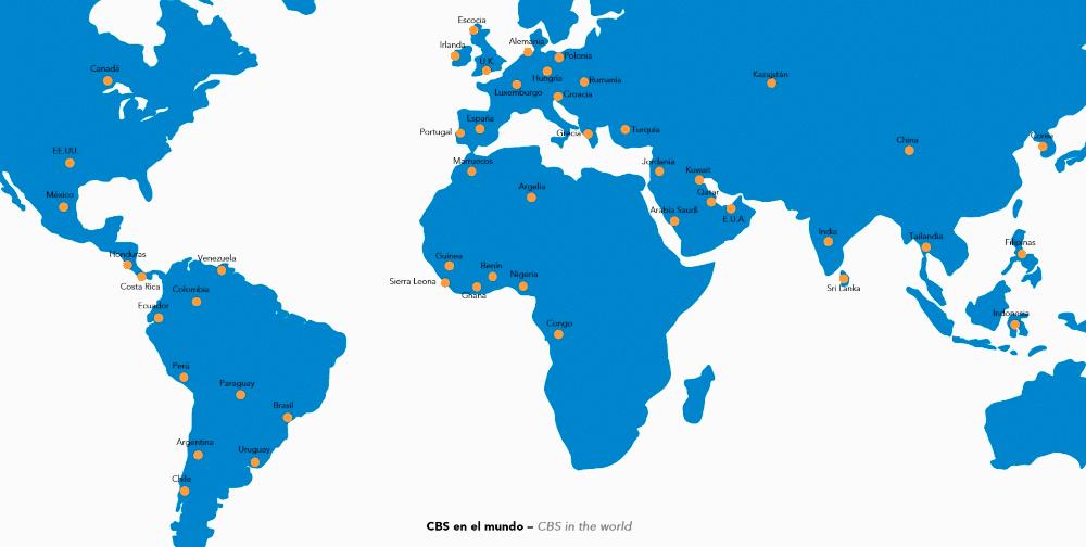 Mapa de Actuaciones CBS