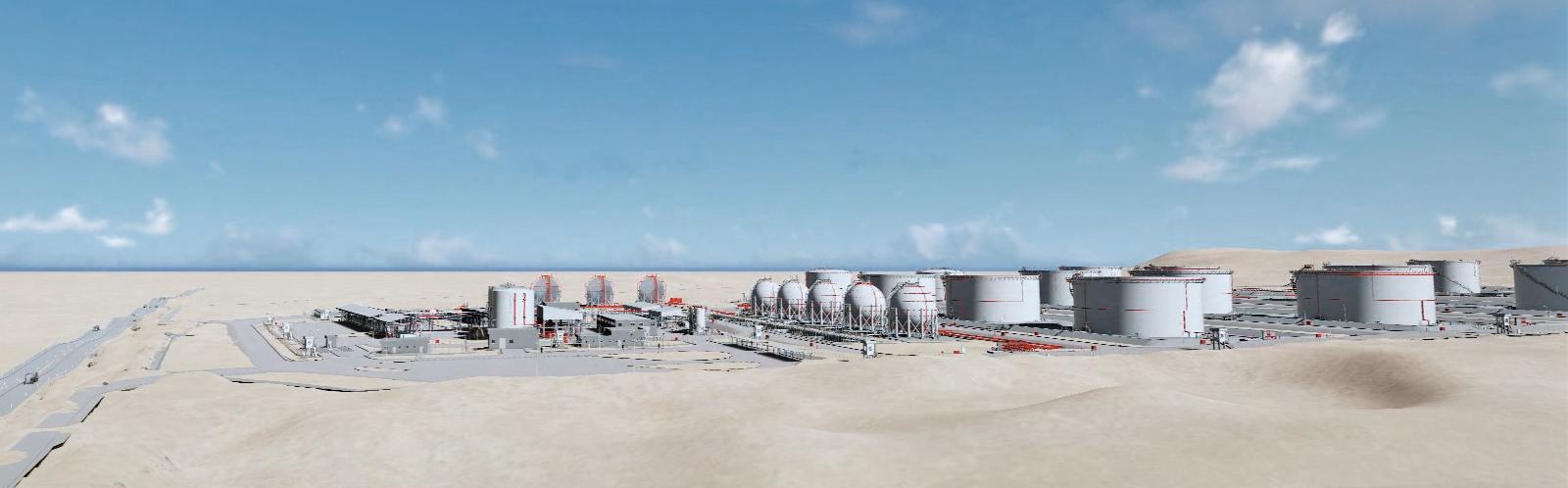 parque de almacenamiento de hidrocarburos